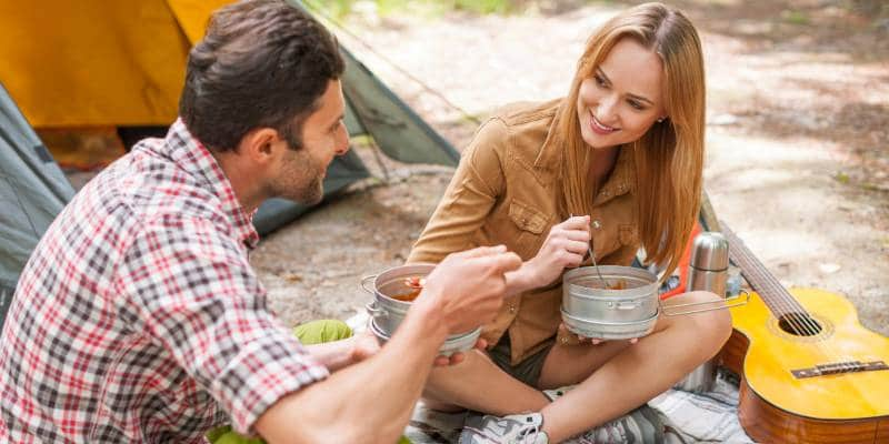Camping as a Couple Benefits