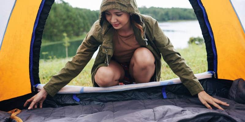 How to Keep Warm when Camping 2
