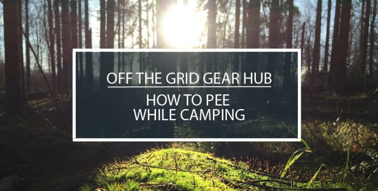 How to Pee While Camping