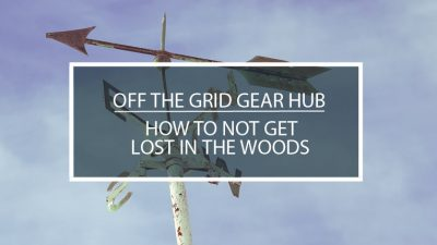 How to not get lost in the woods