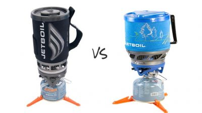 Jetboil Flash vs MiniMo