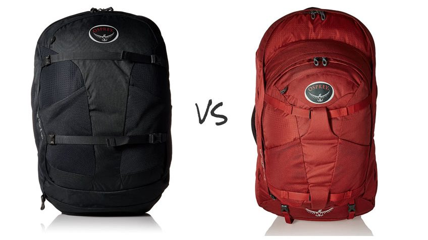 Osprey Farpoint 40 vs 55  Are They Really The Same Pack  cc24192167ec0