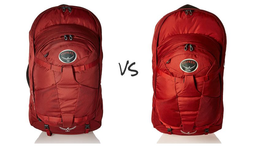 how to pack the osprey farpoint 55