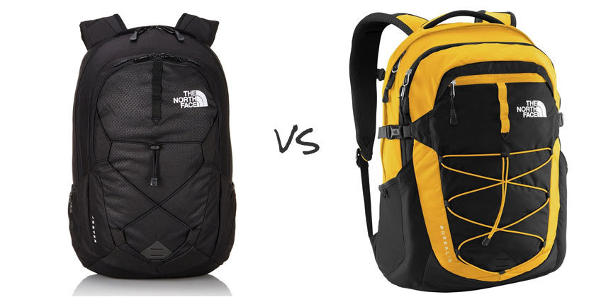 The North Face Jester vs Borealis: Two Colorful Laptop ...
