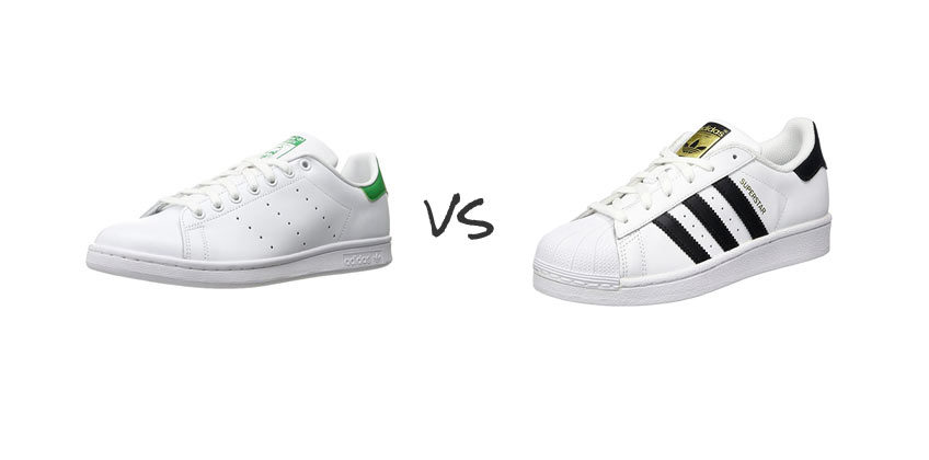 adidas superstar vs stan smith temps limité
