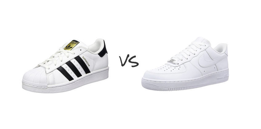 best service 7dc2c b2dcb Adidas Superstar vs Nike Air Force 1  A Matter of Style