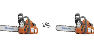 Husqvarna 455 vs the 460