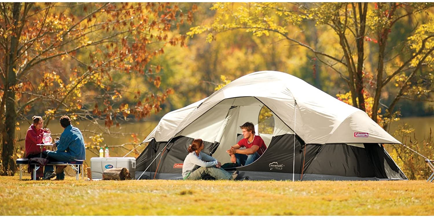 Red Canyon Car Camping Tent