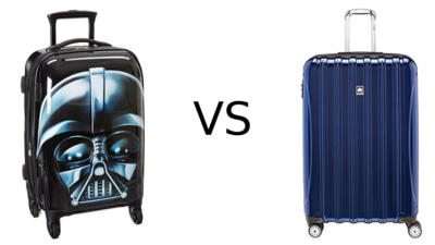 American Tourister vs Delsey