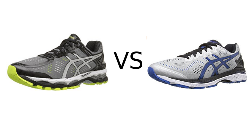 Asics Gel Kayano 22 vs 23  Comfort Or Durability  520df0c93c5c