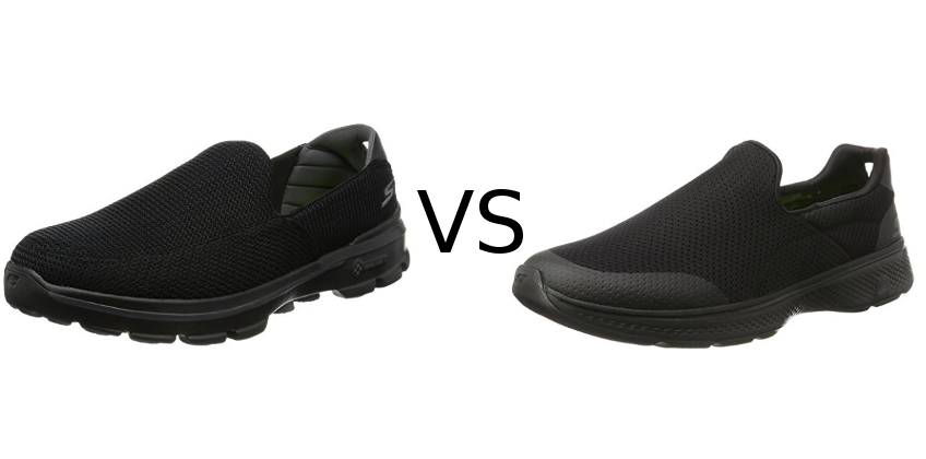 skechers go walk 2 vs 3