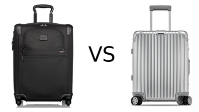 Tumi vs Rimowa Carry On