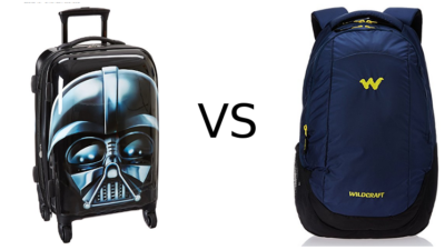 American Tourister vs Wildcraft