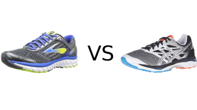 Brooks Ghost 9 vs Asics Cumulus 18