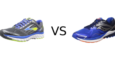 Brooks Ghost 9 vs Saucony Ride 9