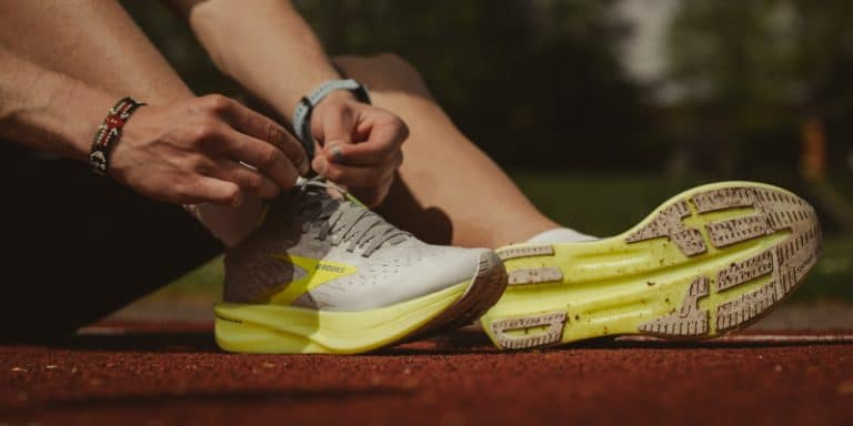 Brooks vs New Balance Shoes with Rollbar Technology