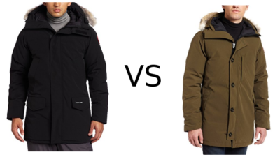 Canada Goose Langford vs Chateau