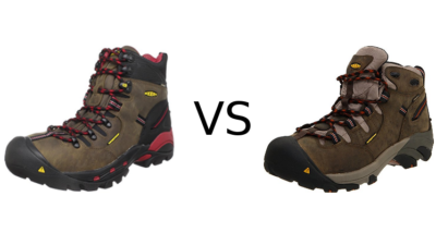 Keen Pittsburgh vs Detroit Work Boots