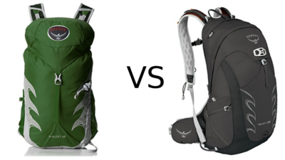 Osprey Talon 18 vs 22