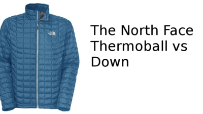 The North Face Thermoball vs Down