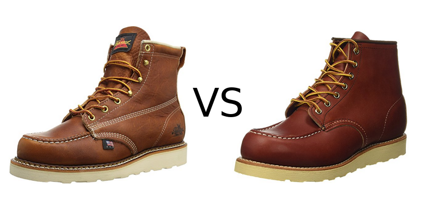 1086f1d1bc4 Thorogood Moc Toe vs Redwing: Two Heritage Work Boots
