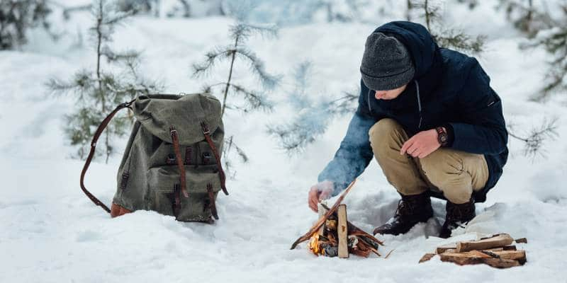 Camping in Winter How To Handle A Snowstorm While Camping 2