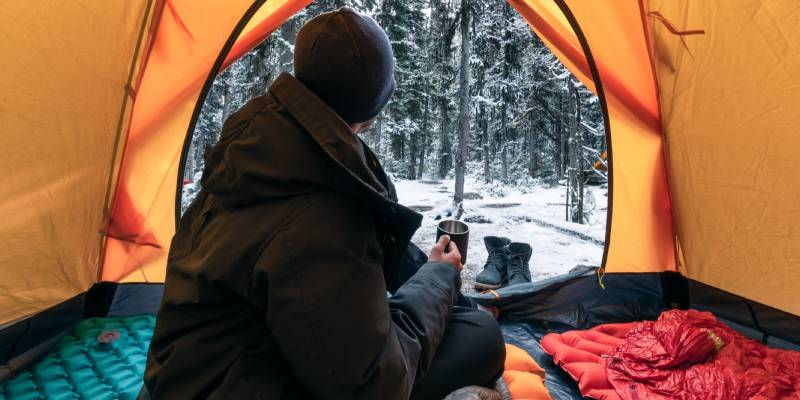Camping in Winter How To Handle A Snowstorm While Camping 5