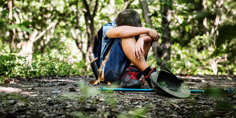 Lost Hiking - How to Remain Calm During A Camping Crisis