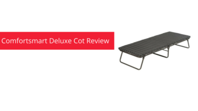 Coleman Comfortsmart Deluxe Cot Review