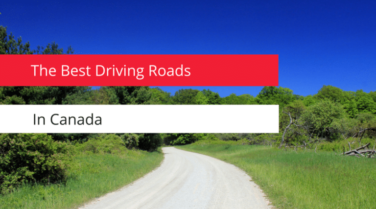 The best driving roads in canada