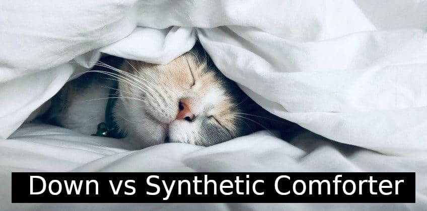 Down vs Synthetic Comforter