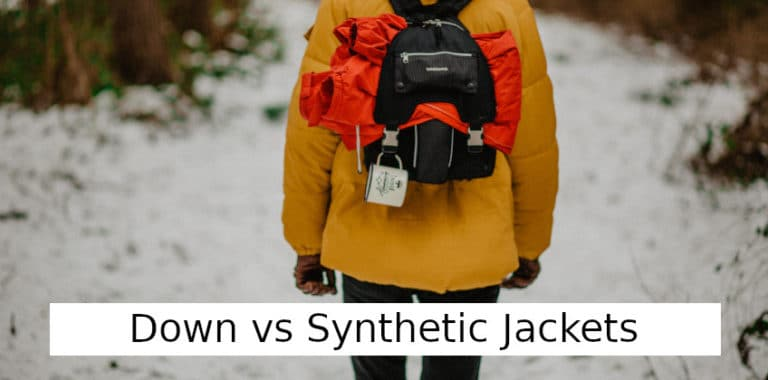 Down vs Synthetic Jacket