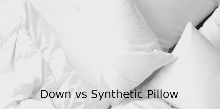 Down vs Synthetic Pillows