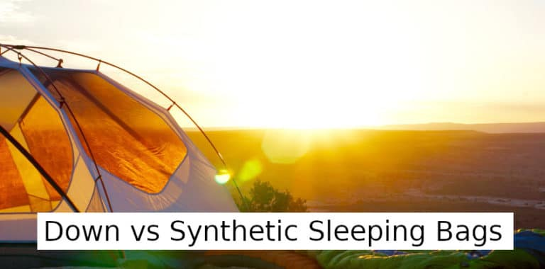 Down vs Synthetic Sleeping Bags