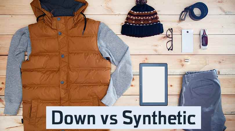 Down vs Synthetic
