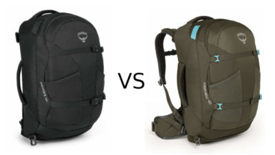 Osprey Farpoint vs Fairview