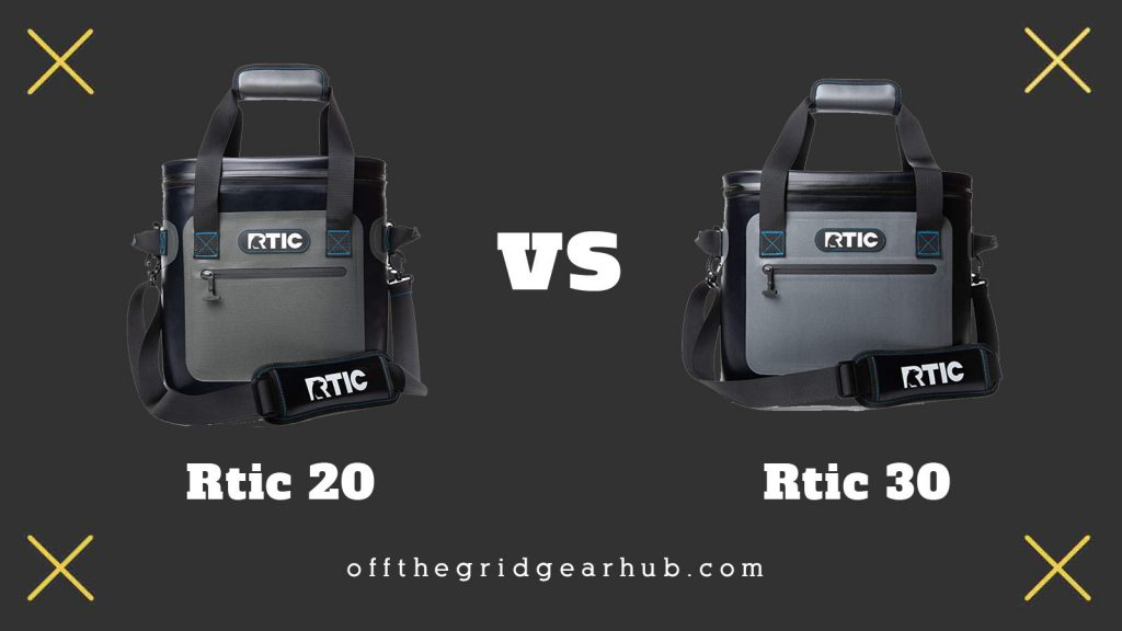 Rtic 20 vs 30 Softpack Coolers