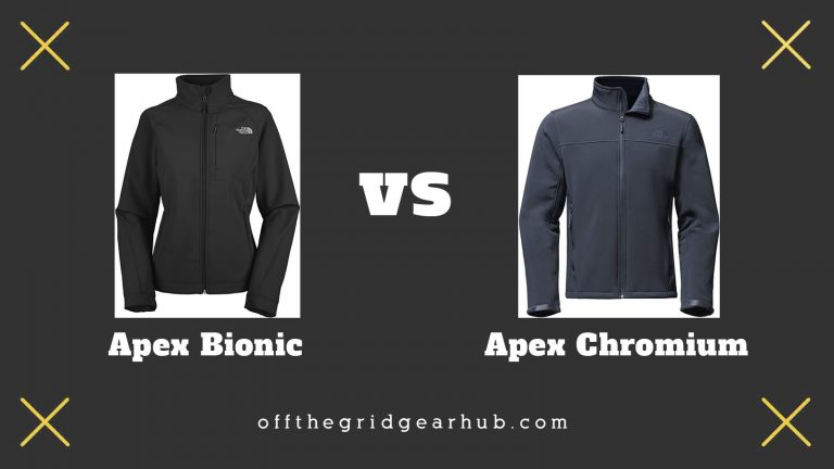 The North Face Apex Bionic vs Chromium Similar But Different