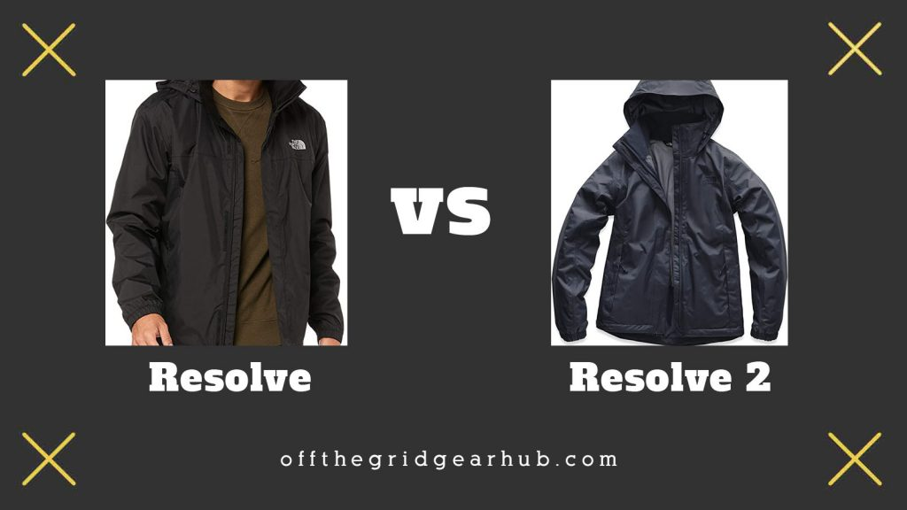 The North Face Resolve vs Resolve 2
