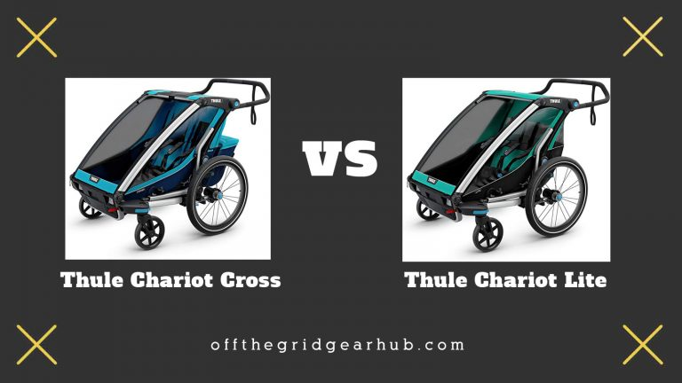 Thule Chariot Cross vs Lite